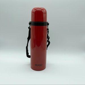 Hugo Boss red thermos